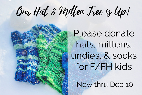 Hat and Mitten Tree
